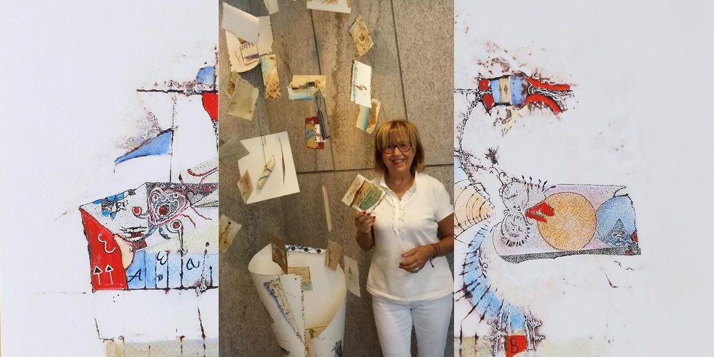 """""""Tempo ritrovato"""", le opere dell'artista Bice Ferraresi in mostra alla Galleria Pescheria di Cesena"""