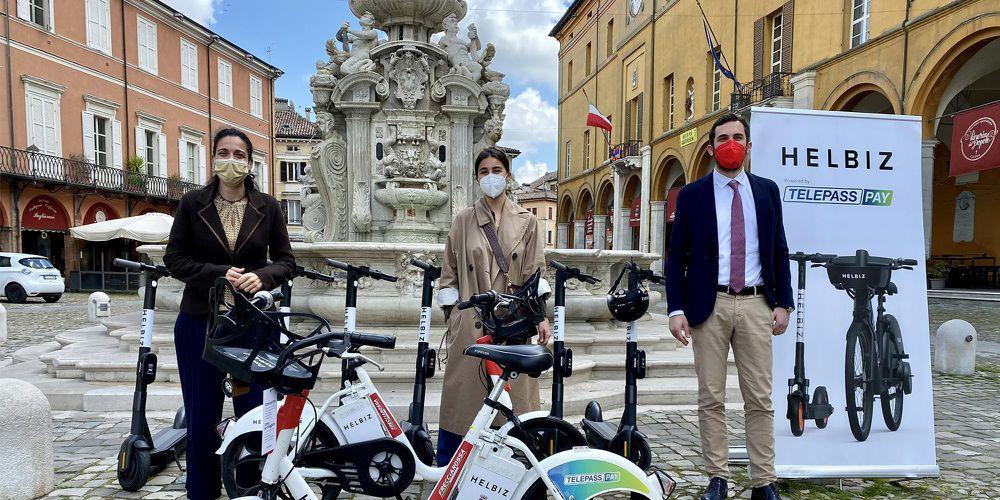 Dopo gli oltre 160 mila chilometri percorsi sui monopattini Helbiz, a Cesena arrivano anche le bici elettriche in sharing