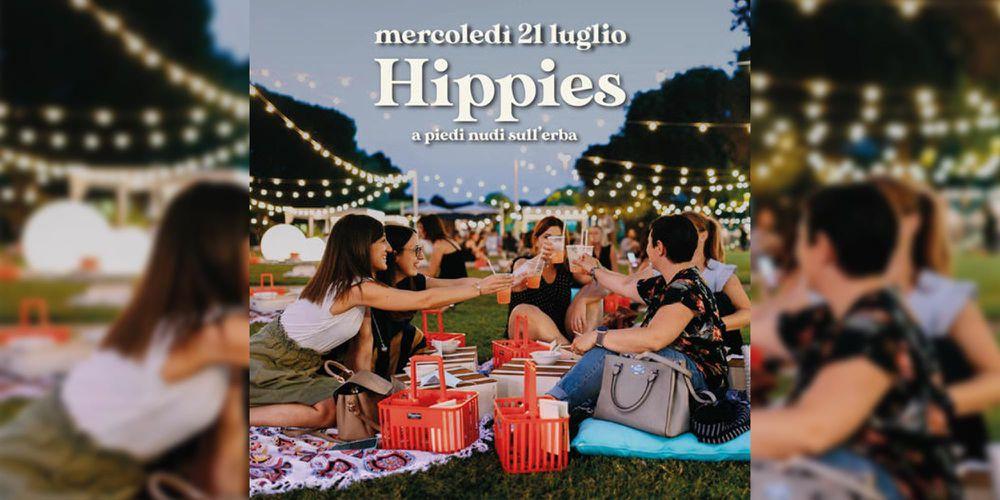 21 Luglio: HIPPIES, a piedi nudi sull'erba