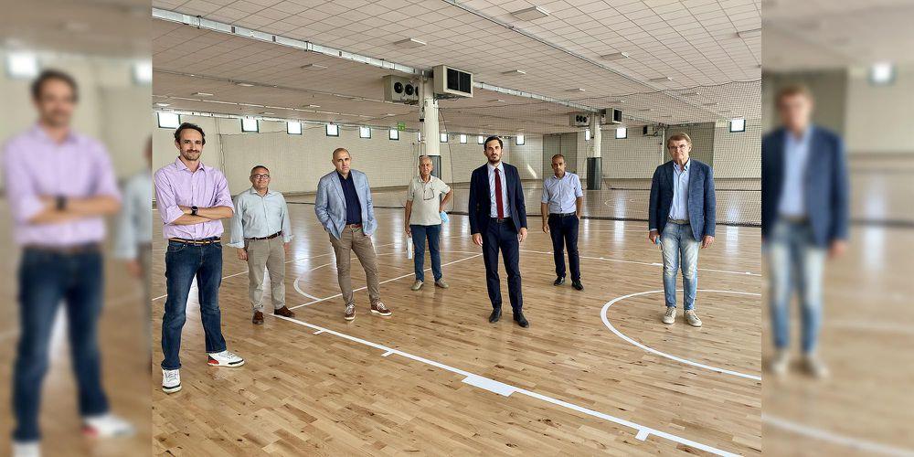 La Fiera di Cesena apre allo sport e ad oltre 260 allievi