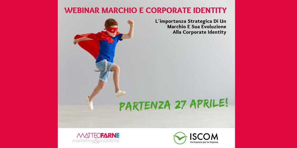 Webinar Marchio e Corporate Identity